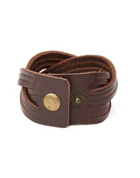 The Idle Man Leather Cuff