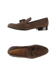 Gold Brothers Moccasins Dark Brown