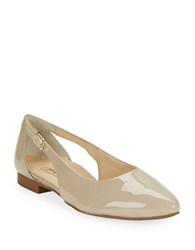 Paul Green Beckett Patent Leather Flats Nude