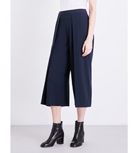 Rag And Bone Rowe Cropped High Rise Crepe Trousers Salute