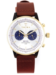 Triwa 'Blue Face Nevil' Watch