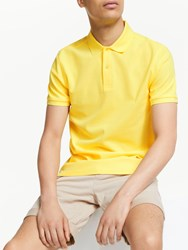 J. Lindeberg J.Lindeberg Troy Clean Pique Slim Fit Polo Shirt Butter Yellow