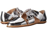Loeffler Randall Willa Silver Mirror Leather Women's Shoes