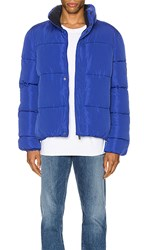Native Youth Pioneer Puffa In Blue.