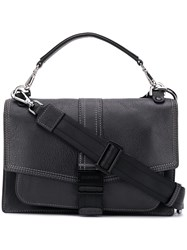 Diesel Miss Match Crossbody Bag Black