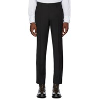 Tiger Of Sweden Ssense Exclusive Black Tapemain Trousers