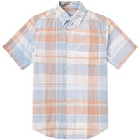 Gant Rugger Selvedge Short Sleeve Shirt Multi