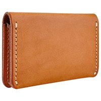 Red Wing Shoes Leather Card Holder Wallet Tan