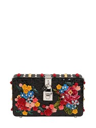 Dolce And Gabbana Embroidered Sequins Clutch