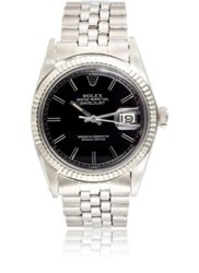 Vintage Watch Women's Oyster Perpetual Datejust Black