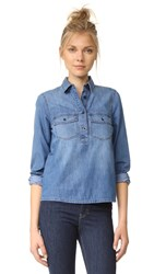 Madewell Denim Pocket Popover Shirt