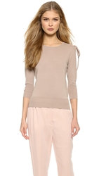 Viktor And Rolf Long Sleeve Sweater Beige