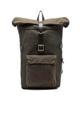 Filson Roll Top Backpack Army