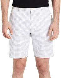 Calvin Klein Checkered Shorts White
