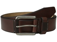 Johnston And Murphy Wrapped Buckle Brown Men's Belts