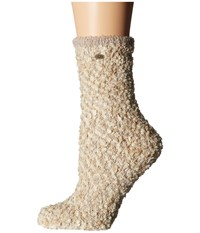 Ugg Cozy Chenille Socks Cream Women's Crew Cut Socks Shoes Beige
