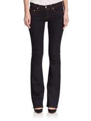 Rag And Bone Mid Rise Bootcut Jeans Soft Harrow
