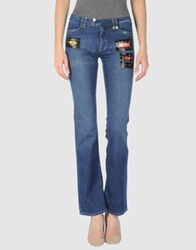 Roccobarocco Denim Pants Blue