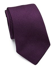 Ralph Lauren Textured Silk Tie Purple