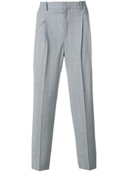 Faith Connexion Tailored Tapered Trousers Blue