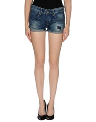 We Are Replay Denim Shorts Blue