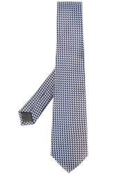 Canali Cube Pattern Tie 60
