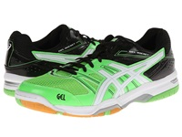 Asics Gel Rocket 7 Neon Green White Black Men's Volleyball Shoes