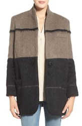 Women's Rebecca Minkoff 'Graffiti' Colorblock Coat
