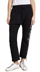 R 13 R13 Thirteen Sweatpants Black