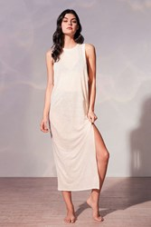 Out From Under Maxi Tank Cover Up Ivory
