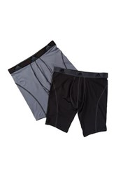 Adidas Sport Midway Brief Pack Of 2 Black