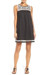 Tory Burch Women's Embroidered Yoke Cover Up Dress