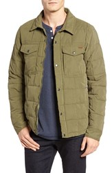 Volcom Men's Fleming Quilted Jacket Military