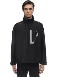 Givenchy Seamless Technical Windbreaker Jacket Black