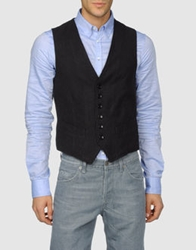 Master Coat Vests Steel Grey