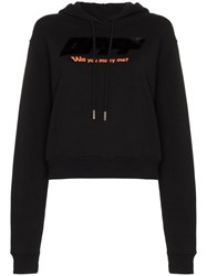 Off White Will You Marry Me Hoodie Black