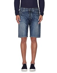 Dekker Denim Denim Bermudas Men Blue