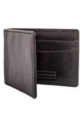 Men's Trafalgar 'Hawthorne' Money Clip Wallet Black