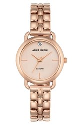 Anne Klein 'S Diamond Bracelet Watch 30Mm