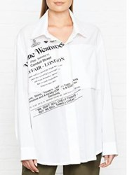 Vivienne Westwood Anglomania Nomad Shirt White