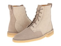 Clarks Desert Mali Boot Sand Suede Canvas Combination Men's Lace Up Boots
