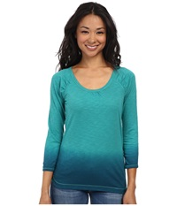 The North Face Sabrina Top Teal Blue Women's T Shirt