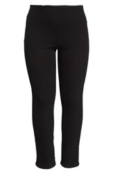 Lysse Plus Size Boyfriend Denim Leggings Black
