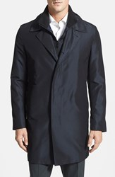 Men's Sanyo 'Brando' Grosgrain Silk Raincoat