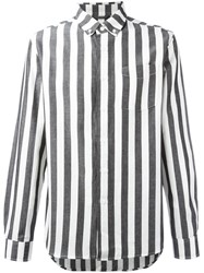 Saturdays Surf Nyc Striped Shirt White