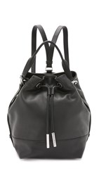 Opening Ceremony Pebble Leather Izzy Backpack Black