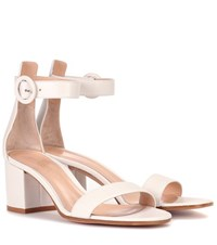 Gianvito Rossi Versilia 60 Leather Sandals White