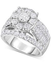 Trumiracle Diamond Bridal Set 3 Ct. T.W. In 14K White Gold