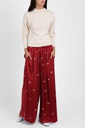 The Row Paba Trousers Red