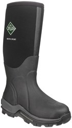 Muck Boot Arctic Sport Tall Wellington Boots Black